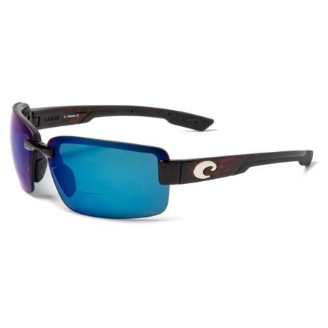 ab5c2e4381b5 Costa Galveston Reader Sunglasses - C-Mate 2.50, 580P Polarized Mirror  Lenses (For
