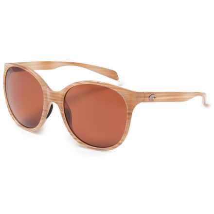 Costa Goby Sunglasses - Polarized 580P Lenses (For Women) in Morena/Copper - Closeouts