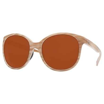 Costa Goby Sunglasses - Polarized CR-39® Lenses (For Women) in Morena/Dark Vermillion - Closeouts