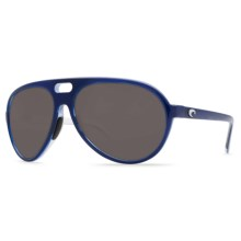 Costa Grand Catalina Sunglasses - Polarized 580P Lenses in Blue/White/Grey 580P - Closeouts