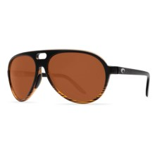 Costa Grand Catalina Sunglasses - Polarized 580P Lenses in Coconut Fade/Copper 580P - Closeouts