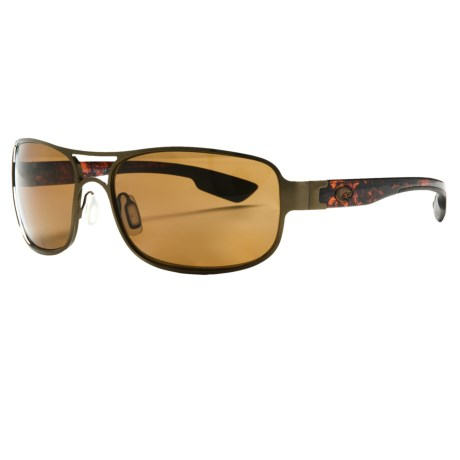 Costa Grand Isle Sunglasses - Polarized, 580P Lenses in Brushed Antique Gold/Amber 580P
