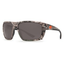 Costa Hamlin Camouflage Sunglasses - Polarized 580P Lenses in Realtree Xtra Camo/Gray - Closeouts