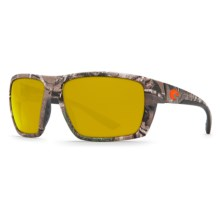 Costa Hamlin Camouflage Sunglasses - Polarized 580P Lenses in Realtree Xtra Camo/Sunrise - Closeouts