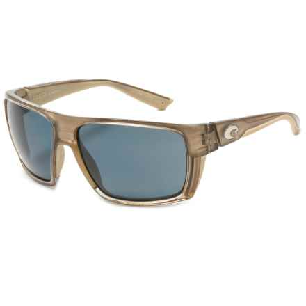 Costa Hamlin Sunglasses - Polarized 580P Lenses in Crystal Bronze/Gray - Closeouts