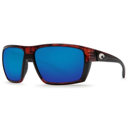 87c5266d6fc28 Costa Hamlin Sunglasses - Polarized 580P Mirror Lenses (For Men) in Tortoise  Blue