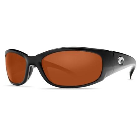 c2d759538fee Costa Hammerhead Sunglasses - Polarized 580P Lenses (For Men) in  Black/Copper