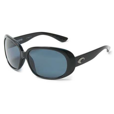 Costa Hammock Sunglasses - Polarized 580P Lenses (For Women) in Black/Gray