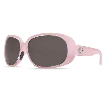 Costa Hammock Sunglasses - Polarized 580P Lenses (For Women) in Coral/Gray - Closeouts