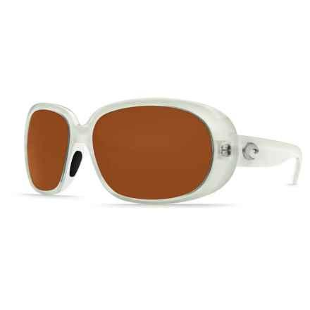 Costa Hammock Sunglasses - Polarized 580P Lenses (For Women) in Sand/Copper - Closeouts