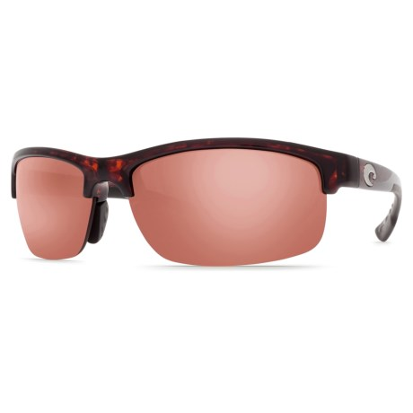 Costa Indio Sunglasses Polarized, Mirrored 580P Lenses