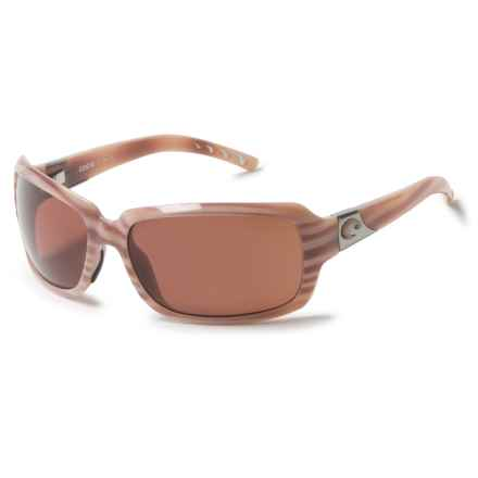 Costa Isabela Sunglasses - Polarized 580P Lenses in Morena/Copper - Overstock