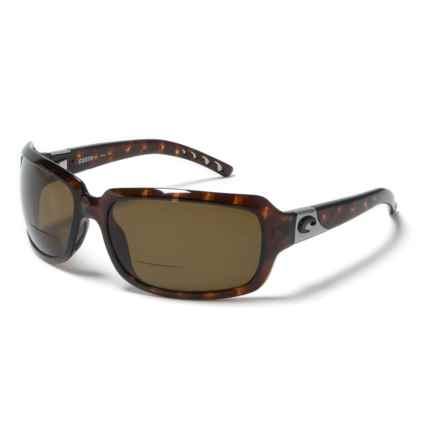 Costa Isabella Reading Glasses - Polarized C-Mates Lenses (For Women) in Tortoise Amber - Overstock