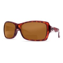 Costa Islamorada Sunglasses - Polarized C-Mates Lenses (For Women) in Tortoise/Amber C-Mate - Closeouts