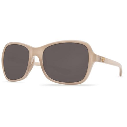 130f25cba9ee Costa Kare Sunglasses - Polarized 580P Lenses (For Women) in Shiny Sand/ Crystal