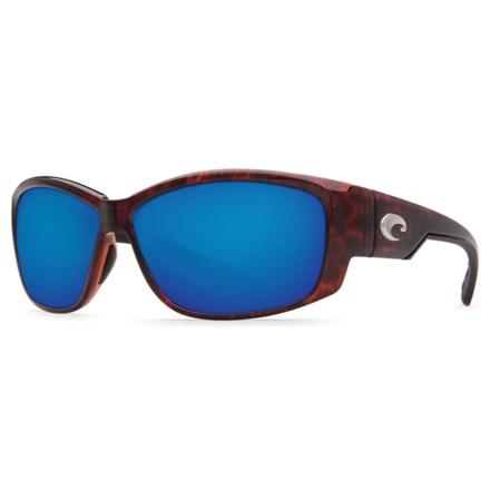 6d63470f266b1 Costa Luke Sunglasses - Polarized 400G Glass Mirror Lenses (For Men) in  Tortoise