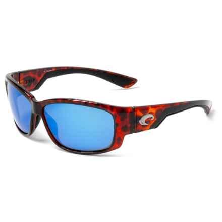 fdab9d9a0e Costa Luke Sunglasses - Polarized 400G Glass Mirror Lenses in Tortoise Blue