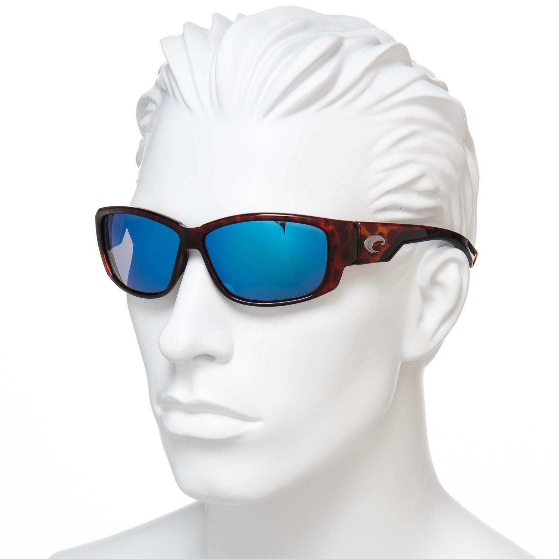 c2a91079b954a Costa Luke Sunglasses - Polarized 400G Glass Mirror Lenses - Save 49%