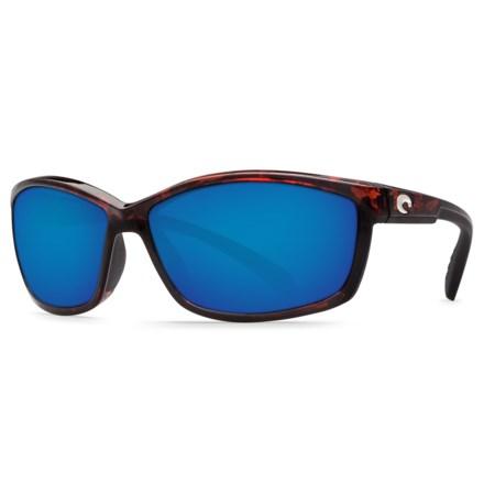 f1ff000592 Costa Manta Sunglasses - Polarized 580G Glass Mirror Lenses (For Men) in  Tortoise