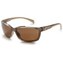 Costa Manta Sunglasses - Polarized 580P Lenses in Crystal Bronze/Amber - Closeouts