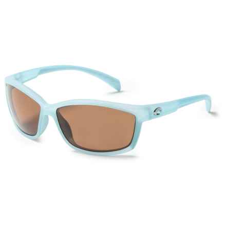 Costa Manta Sunglasses - Polarized 580P Lenses in Matte Ocean/Copper - Closeouts