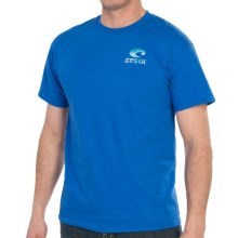 Costa Marlin T-Shirt - Short Sleeve (For Men) in Royal Blue - Closeouts