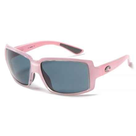 Costa Miss Britt Sunglasses - Polarized 580P Lenses (For Women) in Coral/Gray - Closeouts