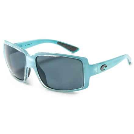 Costa Miss Britt Sunglasses - Polarized 580P Lenses (For Women) in Ocean/Gray - Closeouts