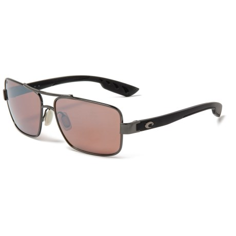 194b22847ba6 Costa North Turn Sunglasses - Polarized 580P Mirror Lenses (For Men) in  Gunmetal/