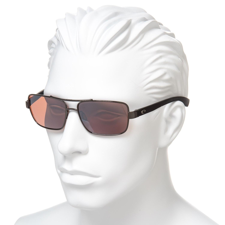 b3940382a4e4 Costa North Turn Sunglasses - Polarized 580P Mirror Lenses (For Men)
