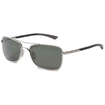 Costa Palapa Sunglasses - Polarized 580G Glass Lenses in Palladium Gray - Overstock