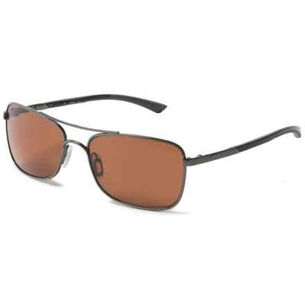 Costa Palapa Sunglasses - Polarized 580P Lenses in Gunmetal/Copper - Closeouts