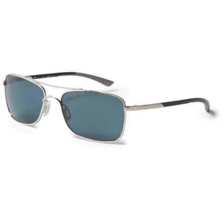 Costa Palapa Sunglasses - Polarized 580P Lenses in Palladium/Gray - Closeouts