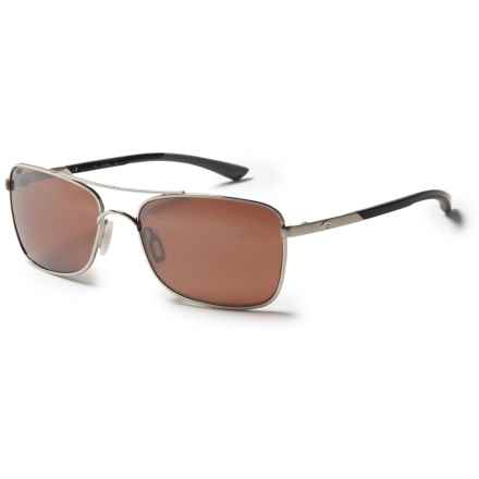 Costa Palapa Sunglasses - Polarized 580P Mirror Lenses in Palladium/Silver Mirror - Closeouts