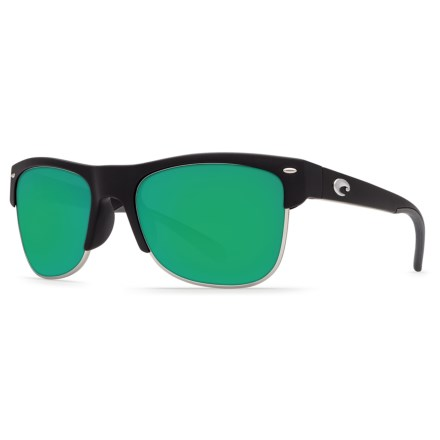 947e9add4fd3a Costa Pawleys Sunglasses - Polarized 580P Mirror Lenses (For Men) in Matte  Black