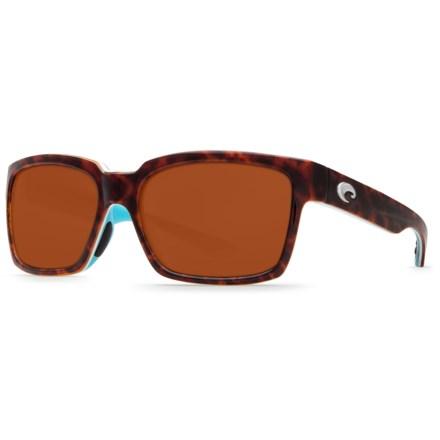 7d0bc6168617 Costa Playa Sunglasses - Polarized 580P Mirror Lenses (For Men and Women)  in Light