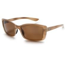 Costa Pluma Sunglasses - Polarized 580P Lenses (For Women) in Morena/Amber - Closeouts