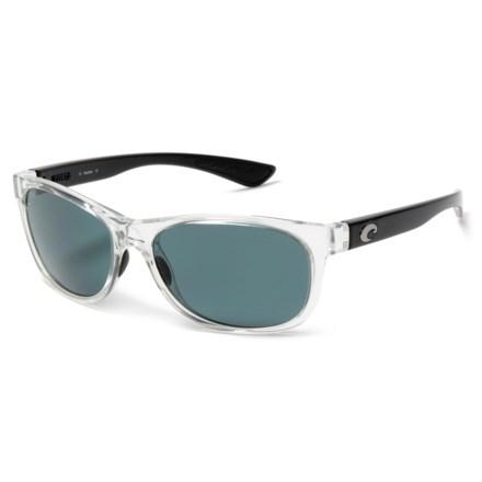 aafccf1c29 Costa Prop Sunglasses - Polarized 580P Lenses in Black Pearl Gray -  Closeouts