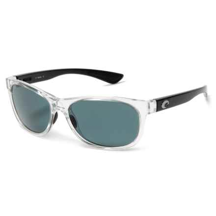 Costa Prop Sunglasses - Polarized 580P Lenses in Black/Pearl Gray - Closeouts