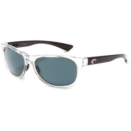 Costa Prop Sunglasses - Polarized 580P Lenses in Black Pearl/Grey 580P - Closeouts