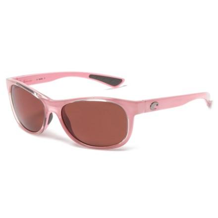 dc3e263496 Costa Prop Sunglasses - Polarized 580P Lenses in Coral Copper - Closeouts