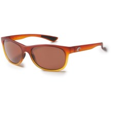 Costa Prop Sunglasses - Polarized 580P Lenses in Frosted Sunset Fade/Copper - Closeouts
