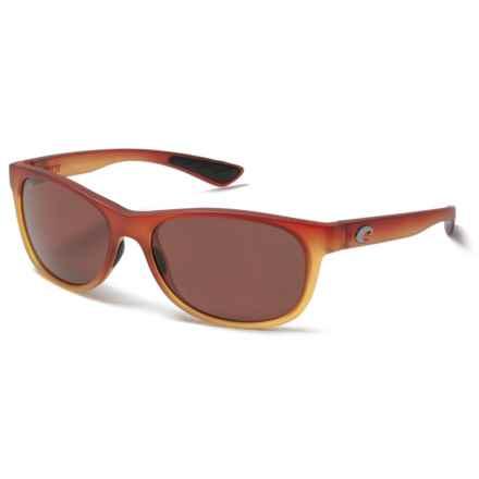Costa Prop Sunglasses - Polarized 580P Lenses in Sunset Fade/ Copper - Closeouts