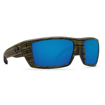 ec021bf18560 Costa Rafael Sunglasses - Polarized 580P Mirror Lenses (For Men) in Matte  Olive Teak