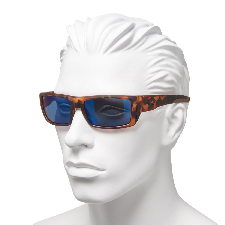56562e8ec411d Costa Rafael Sunglasses - Polarized Mirror 580P Lenses - Save 49%