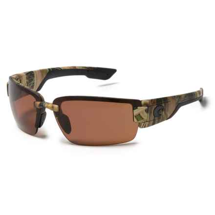 Costa Rockport Sunglasses - Polarized 580P Lenses in Mossy Oak Shadow Grass Blades/Copper - Closeouts
