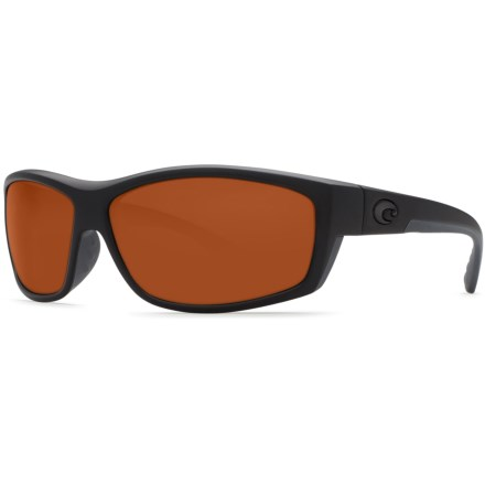 faf177916e3c Costa Saltbreak Sunglasses - Polarized 580G Glass Lenses (For Men) in  Blackout/Copper