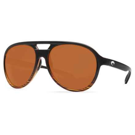 Costa Seapoint Sunglasses - Polarized CR-39® Lenses in Coconut Fade/Dark Vermillion - Closeouts