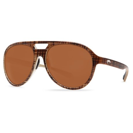 Costa Seapoint Sunglasses Polarized CR 39(R) Lenses