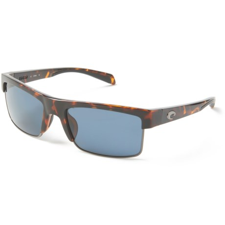 Costa South Sea Sunglasses - Polarized 580P Lenses in Retro Tortoise/Gunmetal/Gray
